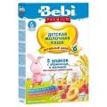 Каша Беби Premium  5 злаков с абрикосом и малиной