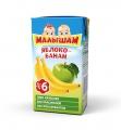 Сок Малышам 0,125 яблоко-банан нектар с 6 месяцев