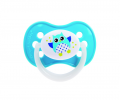 Пустышка Canpol Babies силиконовая симметричная 6-18 мес Owl