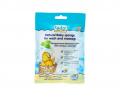 Натуральная детская губка для мытья и массажа №1