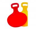Санки-ледянки, 1шт. красный цвет