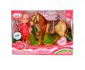 Кукла Машенька 12см с конем/Карапуз