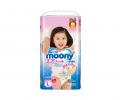 Подгузники-трусики MOONY L 9-14 кг 44 шт для девочек