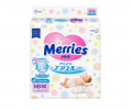 Подгузники Merries Air Through (0-5кг) 90шт
